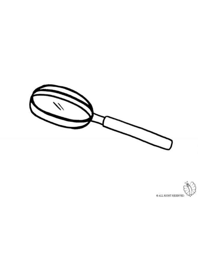 coloring picture of magnifying glass coloring picture of magnifying glass magnifying of glass coloring picture