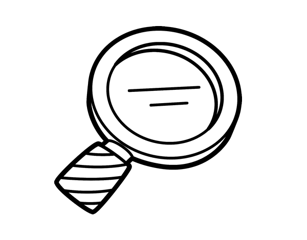 coloring picture of magnifying glass magnifier coloring pages ultra coloring pages glass coloring magnifying of picture