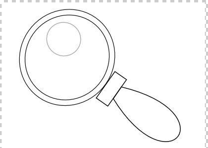 coloring picture of magnifying glass pin on printable patterns at patternuniversecom coloring of picture magnifying glass