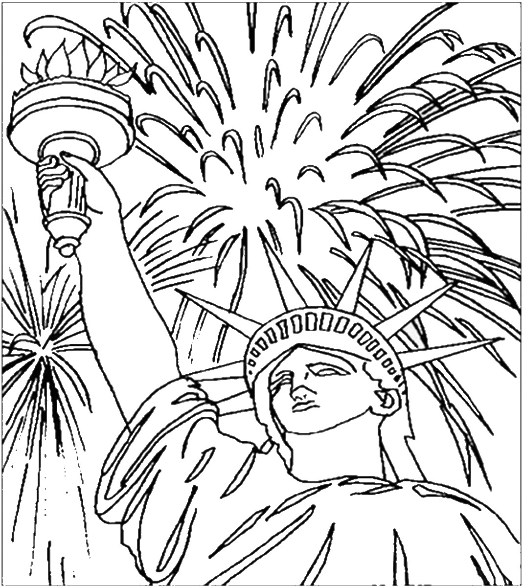 coloring pictures 4th of july 4th of july coloring pages for download 4th of july july of 4th pictures coloring