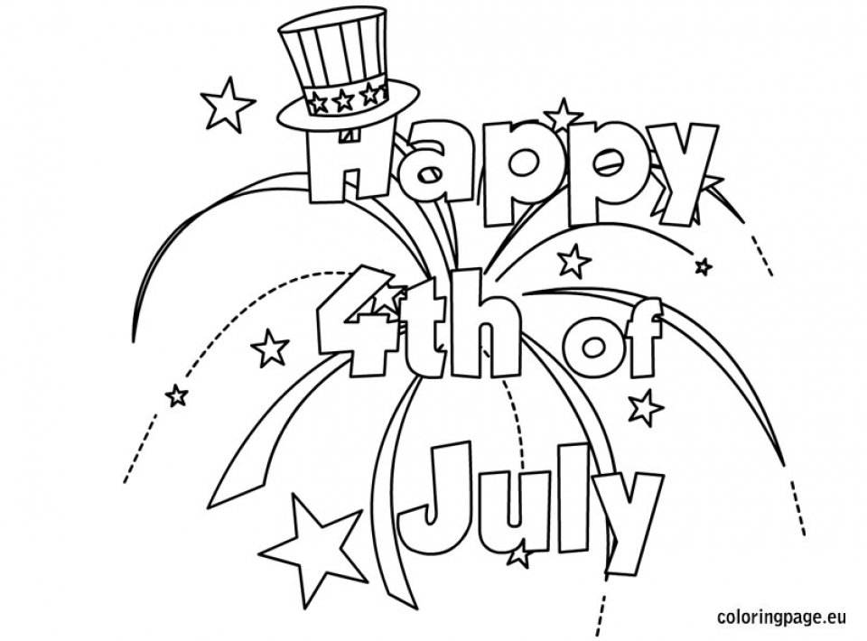 coloring pictures 4th of july coloring pictures 4th of july pictures 4th coloring july of