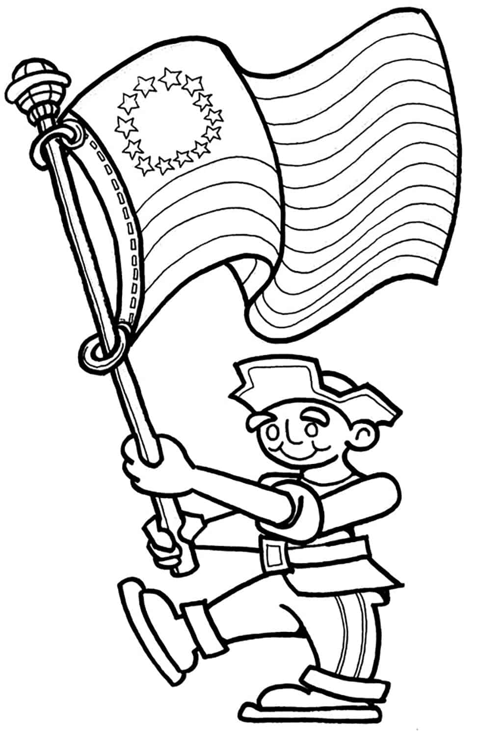 coloring pictures 4th of july fourth of july coloring pages of july coloring 4th pictures