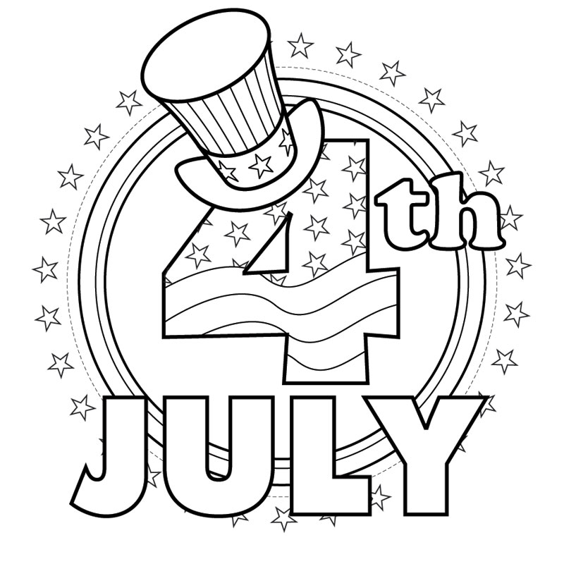 coloring pictures 4th of july free printable 4th of july coloring pages pictures july of 4th coloring