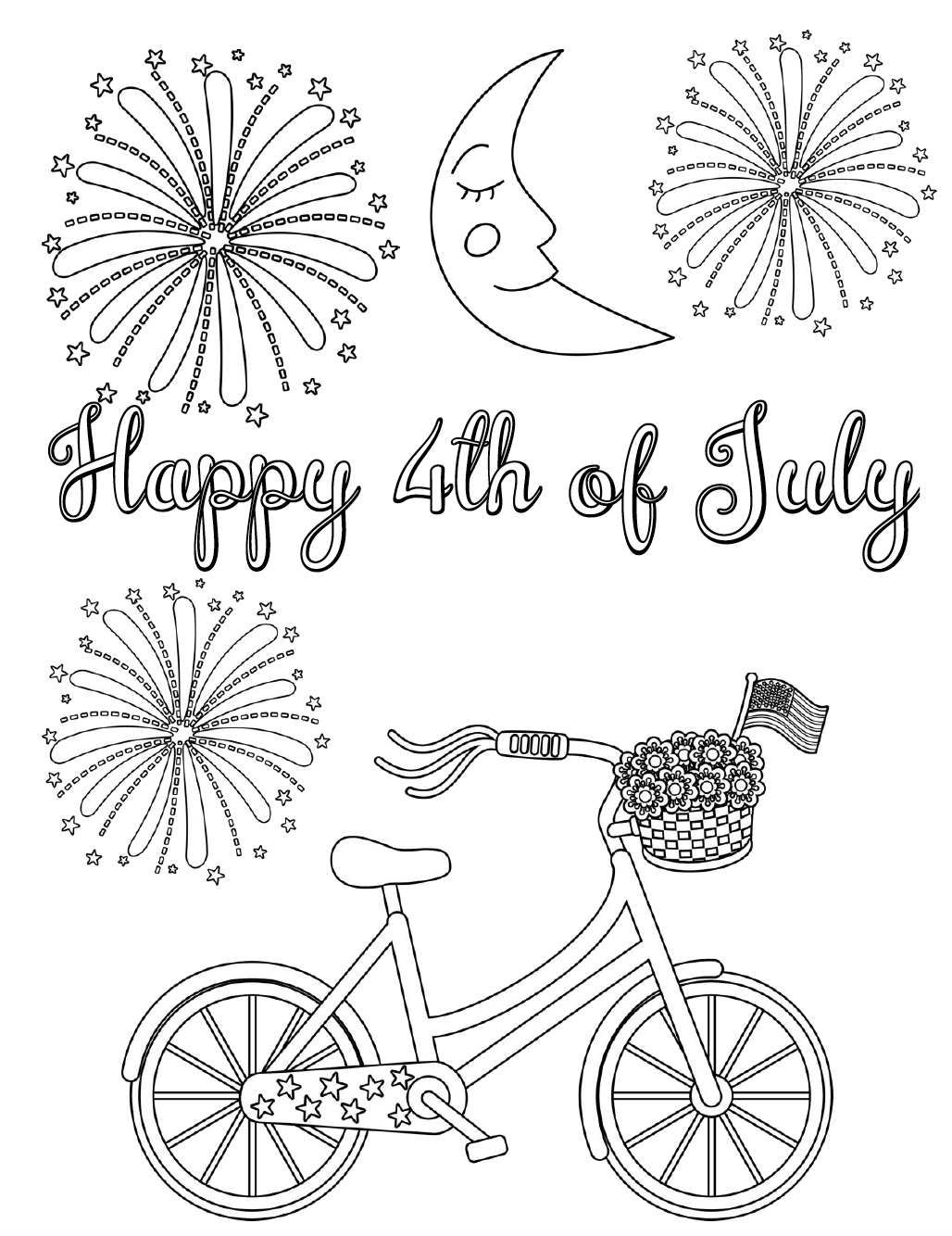 coloring pictures 4th of july free printable 4th of july coloring pages scribblefun july 4th of coloring pictures
