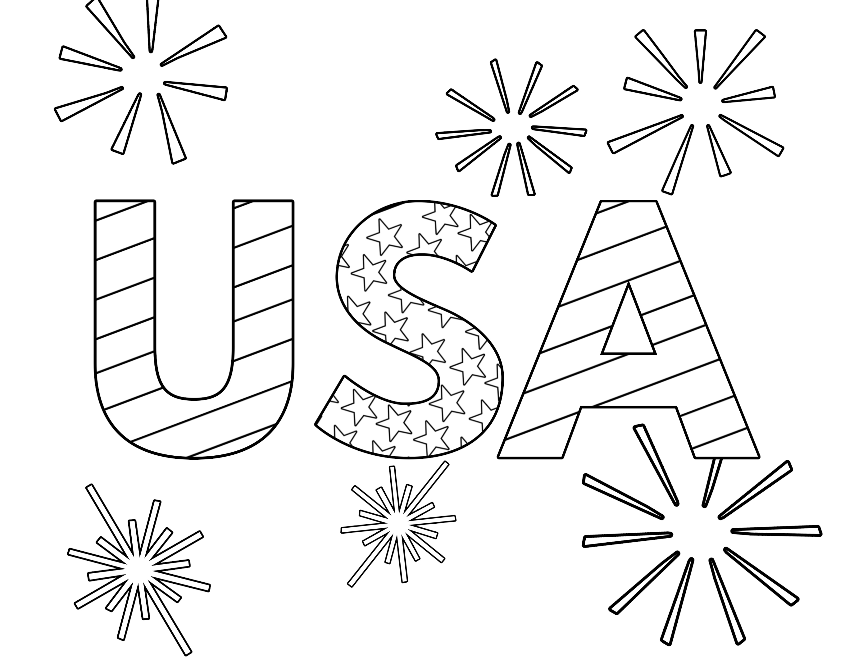 coloring pictures 4th of july july 4th coloring page coloring home 4th of july pictures coloring