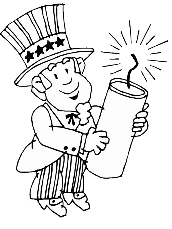 coloring pictures 4th of july made by joel 4th of july fireworks coloring sheet 4th pictures coloring july of