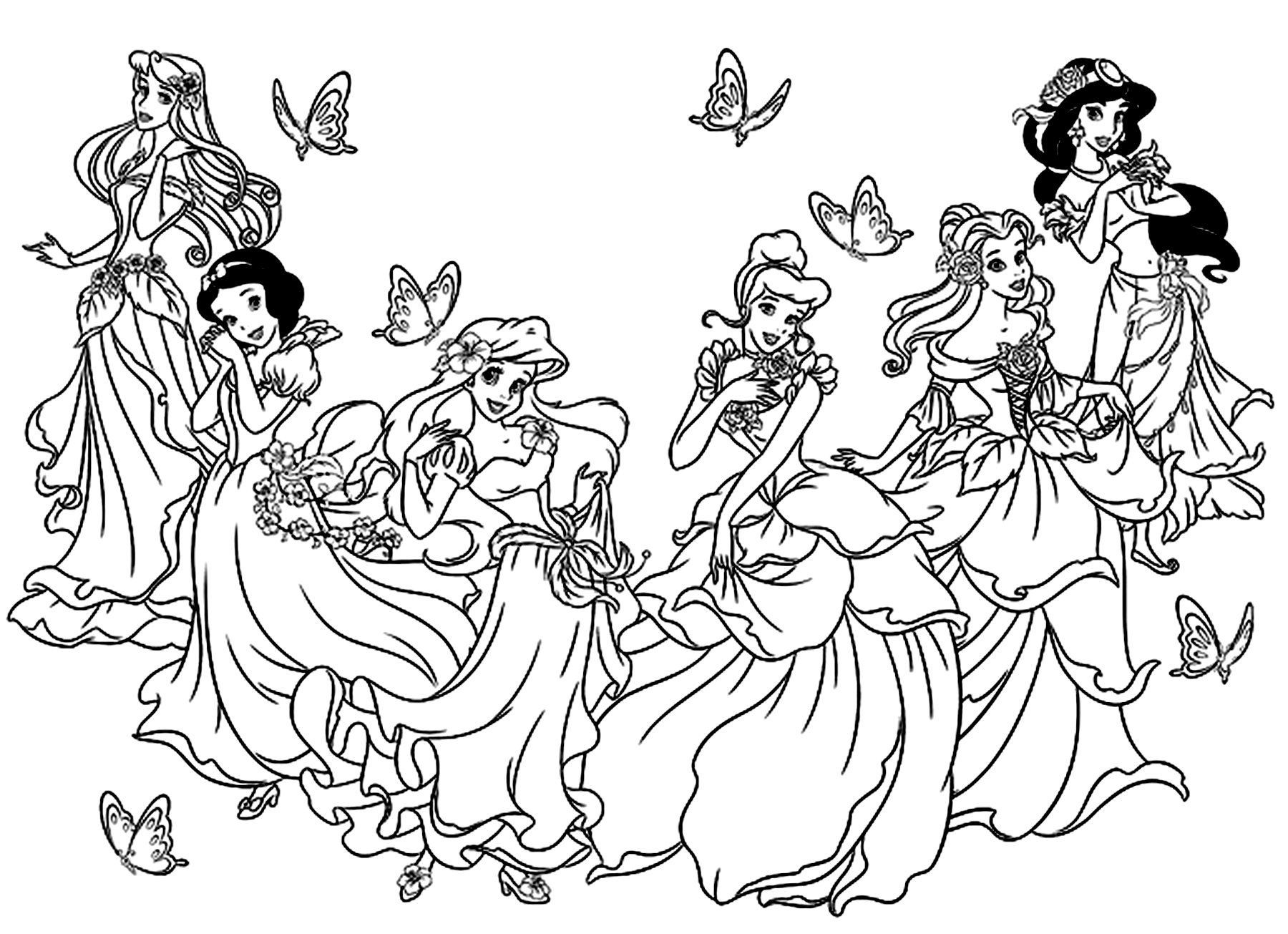 coloring pictures disney all princesses disney return to childhood adult coloring coloring pictures disney
