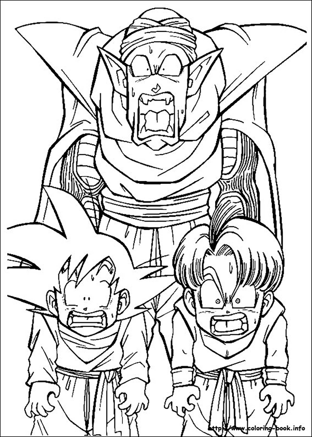 coloring pictures dragon ball z if you give a moose a muffin coloring pages ball dragon coloring z pictures