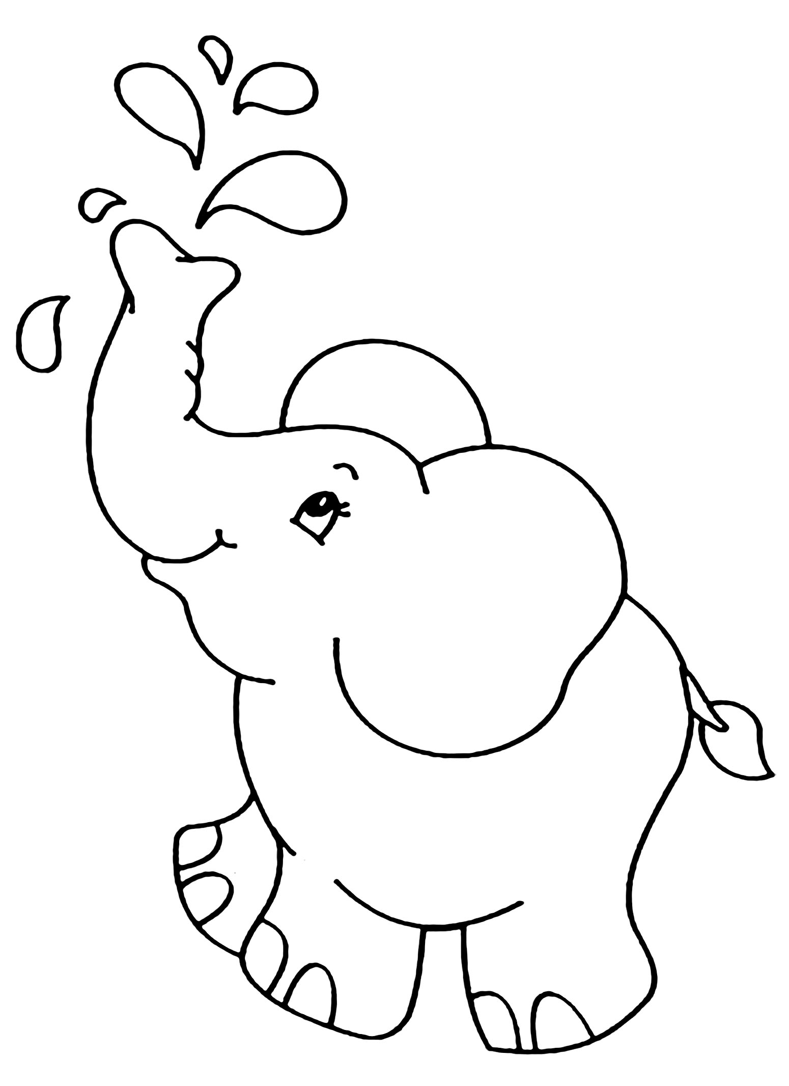 coloring pictures elephant elephant coloring pages free download on clipartmag pictures coloring elephant