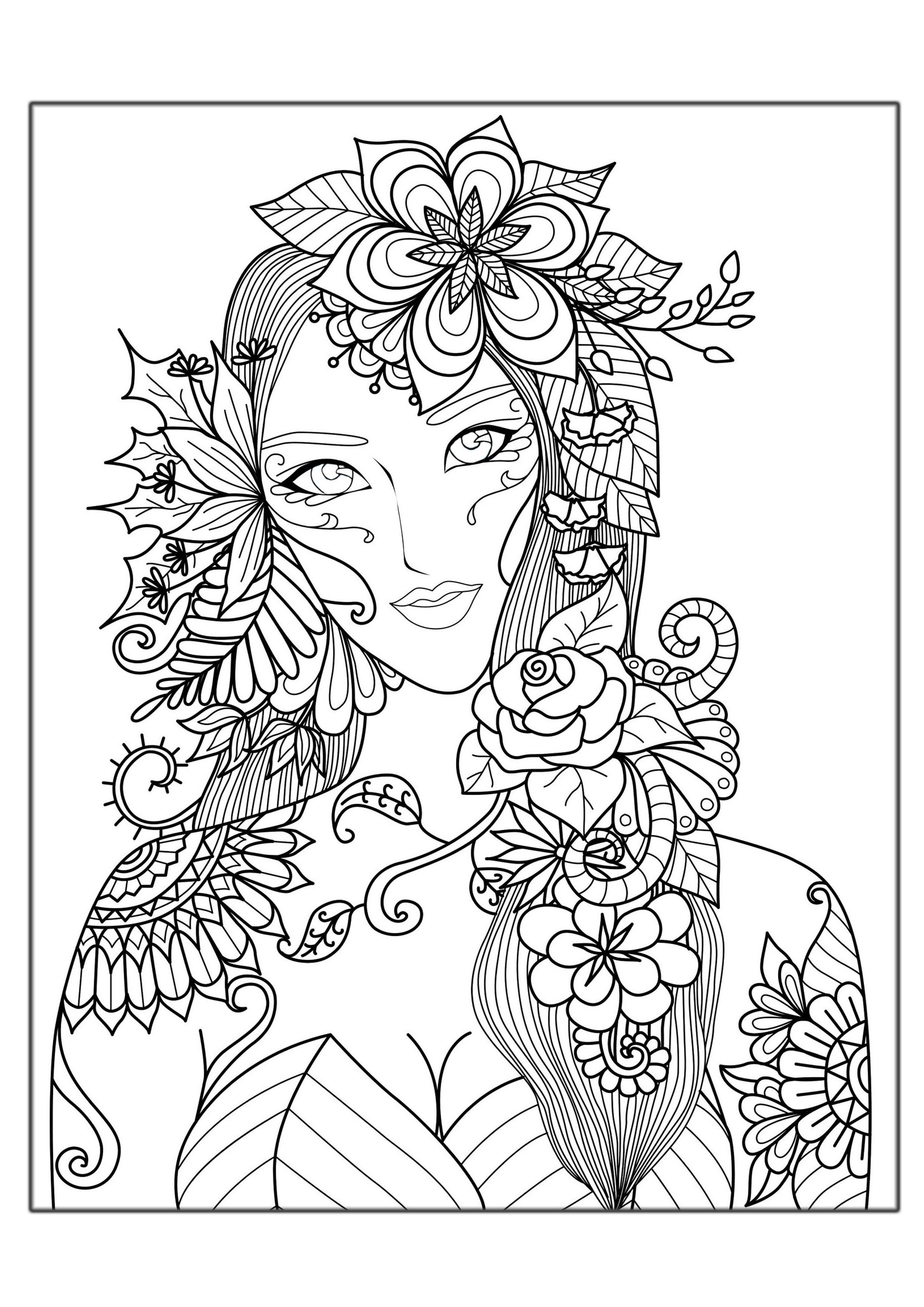 coloring pictures for teenagers printable coloring pages for teen girls at getcolorings coloring pictures for teenagers