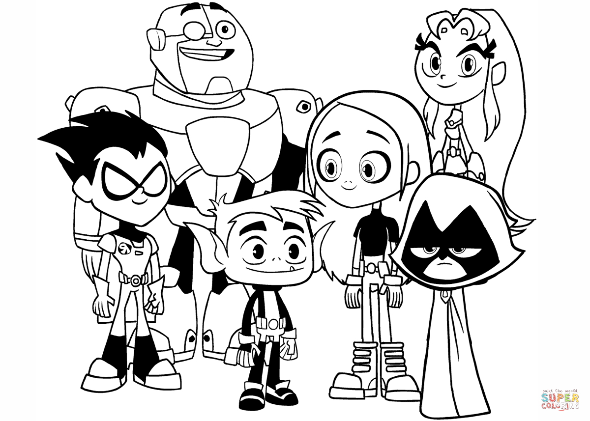 coloring pictures for teenagers teen titans go coloring pages at getcoloringscom free pictures for coloring teenagers