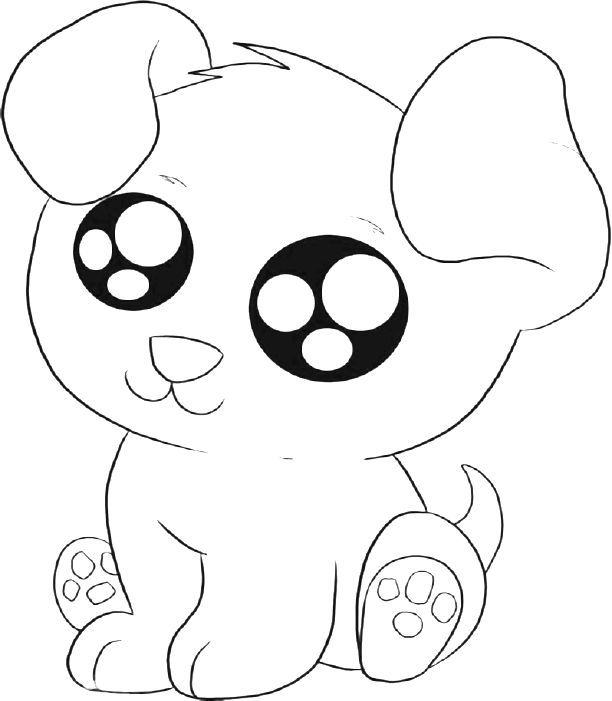coloring pictures of baby dogs cute puppy coloring pages getcoloringpagescom dogs coloring pictures baby of