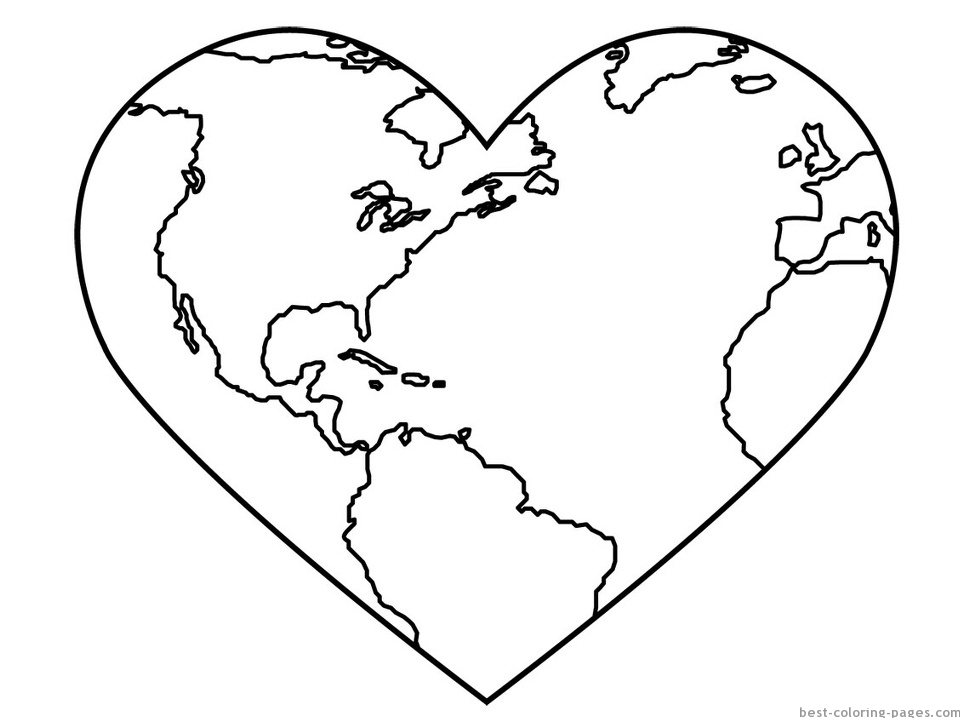 coloring pictures of earth a happy earth on earth day coloring page download coloring pictures of earth