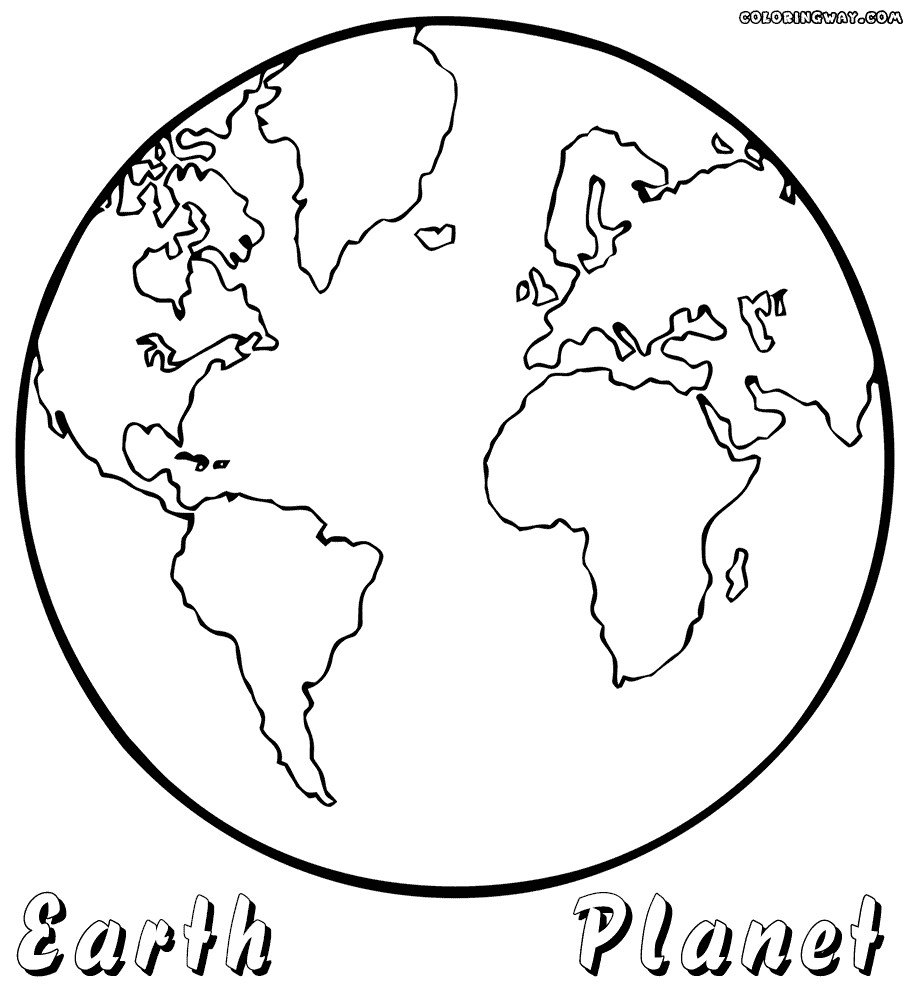 coloring pictures of earth earth day coloring pages preschool and kindergarten of earth coloring pictures