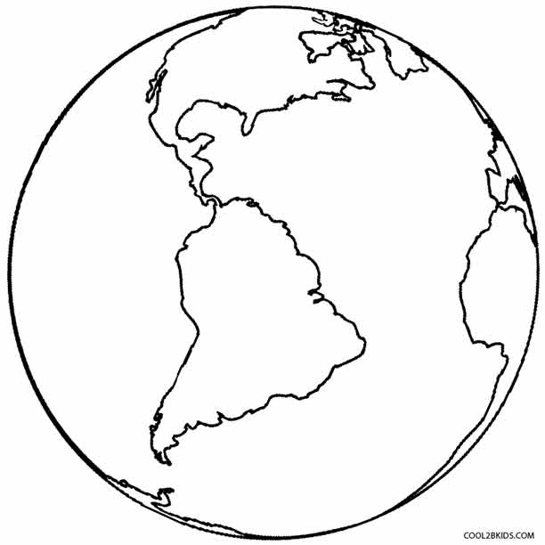 coloring pictures of earth planet earth coloring pages at getdrawings free download of pictures coloring earth