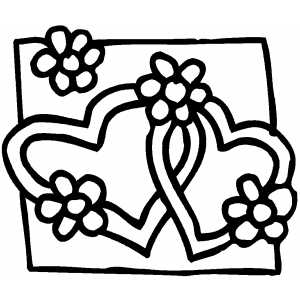 coloring pictures of flowers and hearts free printable roses coloring pages for kids coloring pictures flowers of and hearts