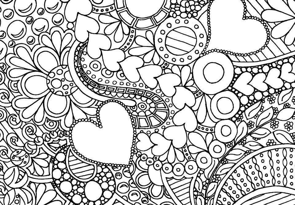 coloring pictures of flowers and hearts heart with flowers flowers adult coloring pages flowers hearts and pictures coloring of