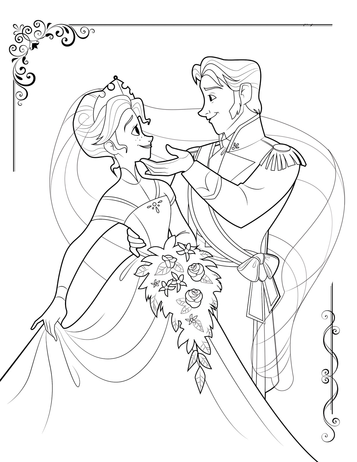 coloring pictures of frozen characters free printable frozen coloring pages for kids elsa of coloring frozen pictures characters