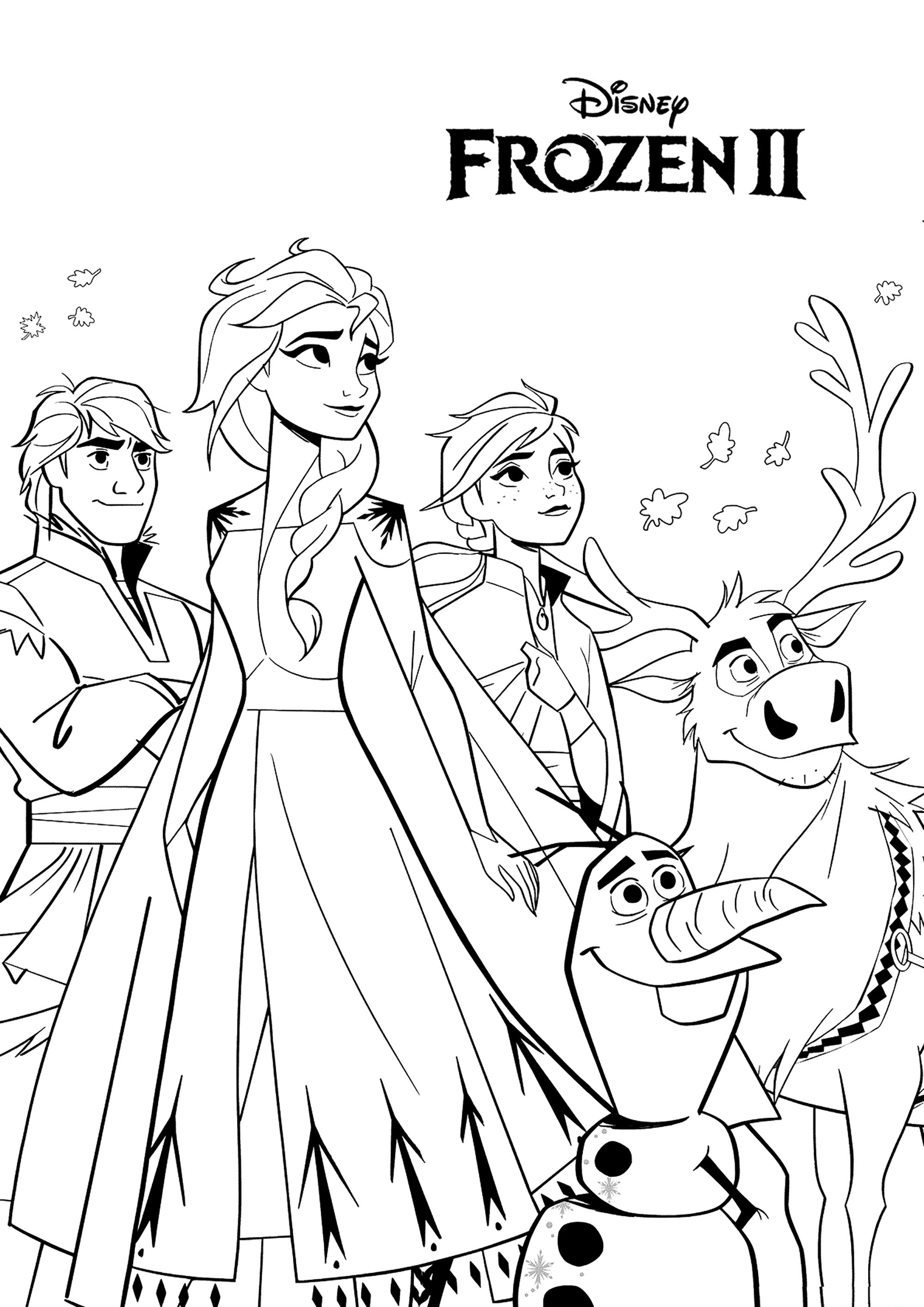 coloring pictures of frozen characters frozen coloring pages 2 disneyclipscom of characters frozen pictures coloring