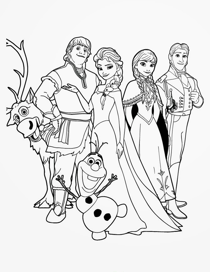 coloring pictures of frozen characters frozen coloring pages animated film characters elsa coloring characters of pictures frozen