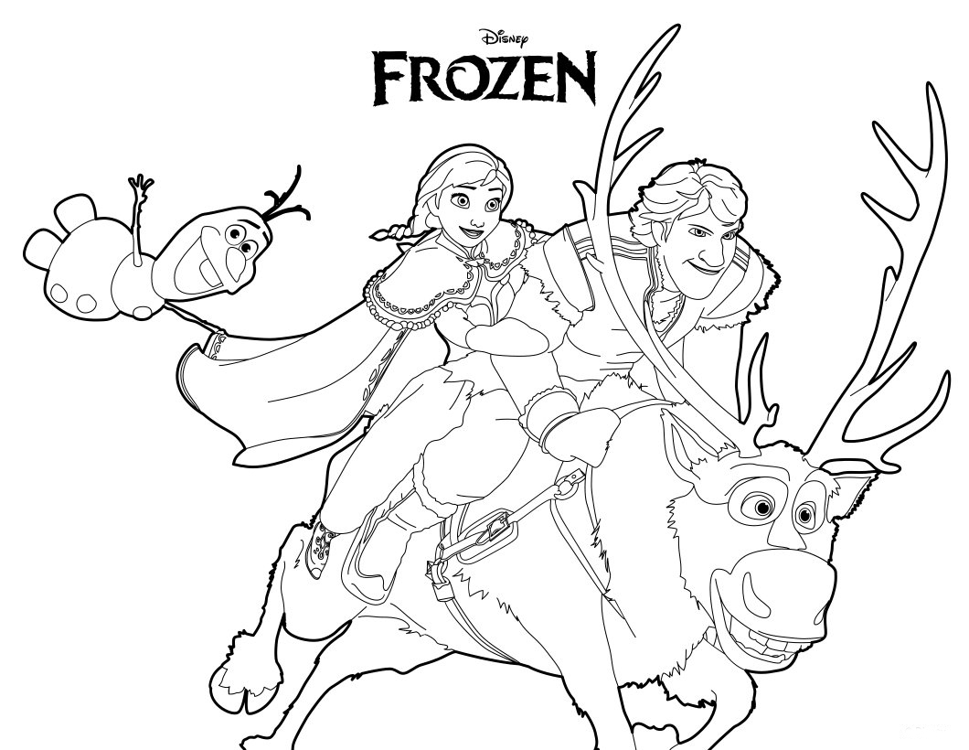 coloring pictures of frozen characters frozen fever coloring pages character 101 worksheets coloring characters frozen of pictures
