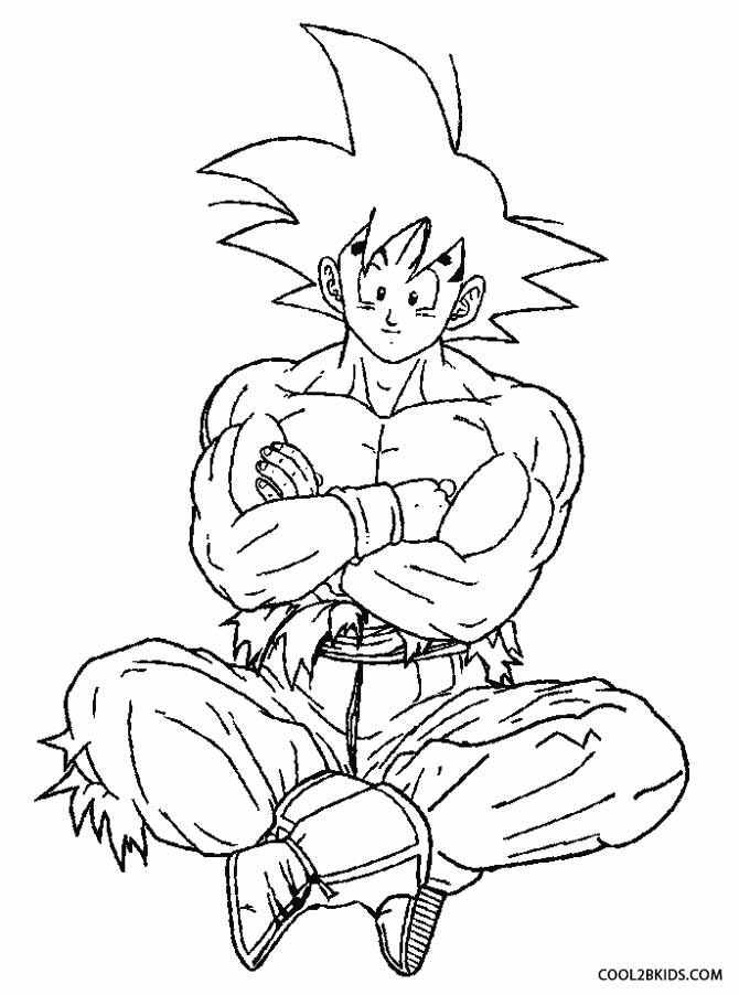 coloring pictures of goku cute goku super saiyan 2form in dragon ball z coloring coloring goku pictures of
