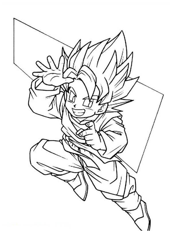 coloring pictures of goku free coloring pages of goku super saiyan 3 coloring home coloring of goku pictures