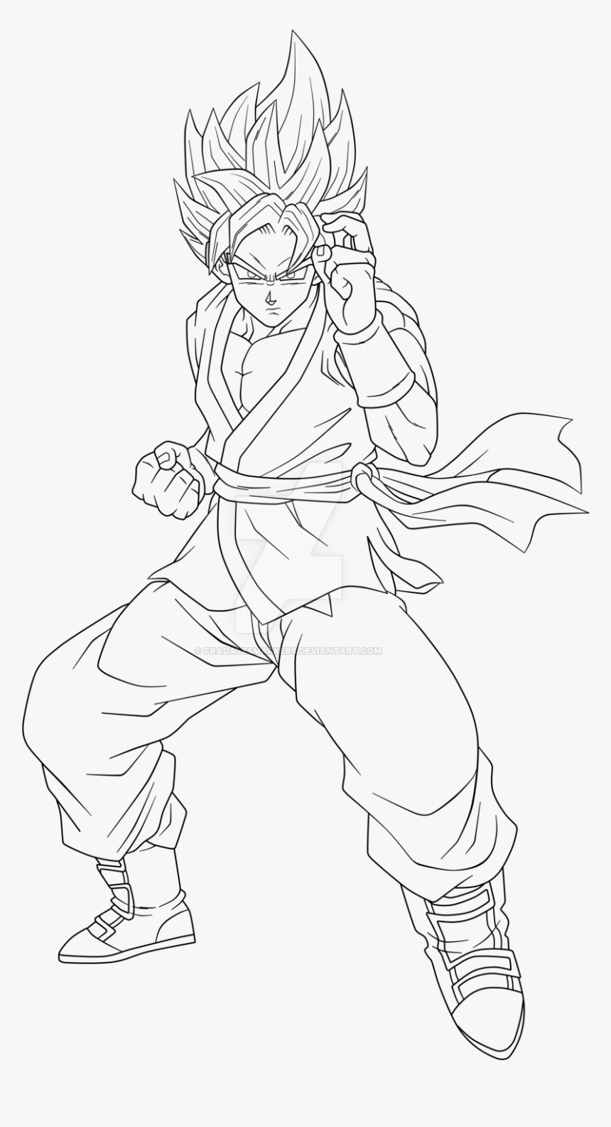 coloring pictures of goku goku coloring pages to download and print for free of coloring goku pictures