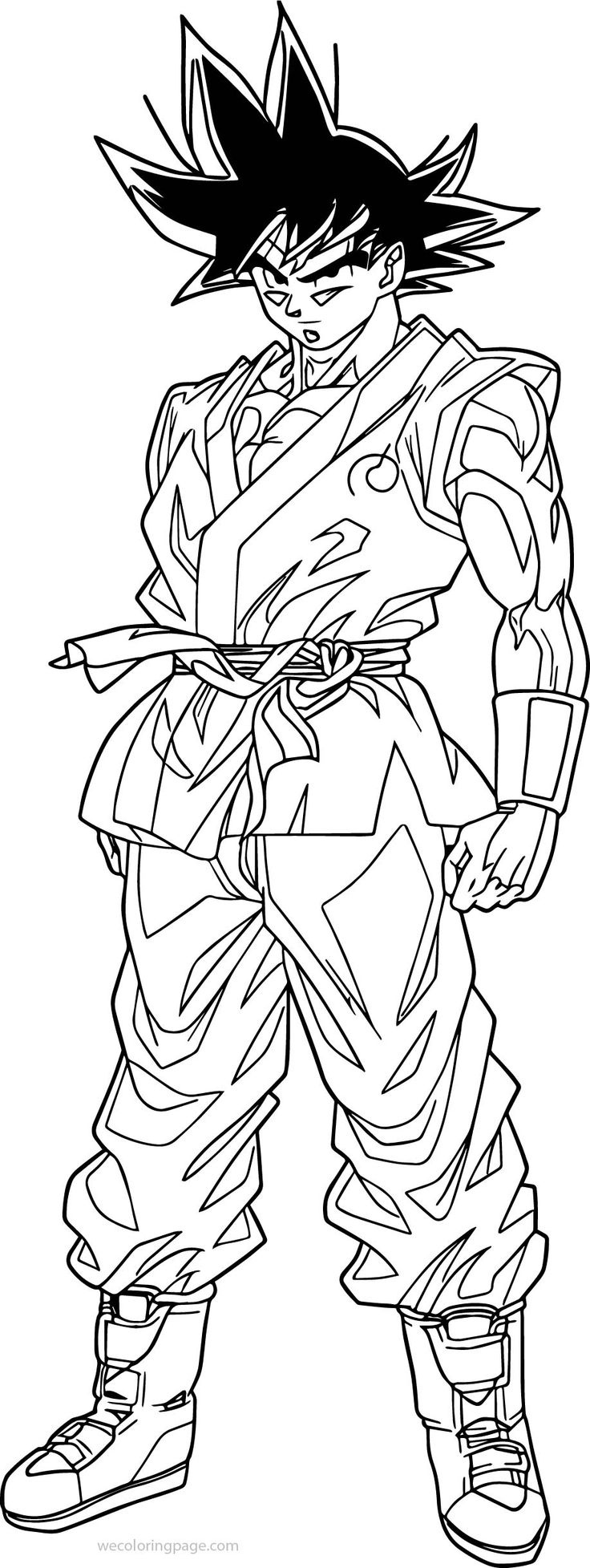 coloring pictures of goku goku ssj by wladyb91 on deviantart coloring goku of pictures