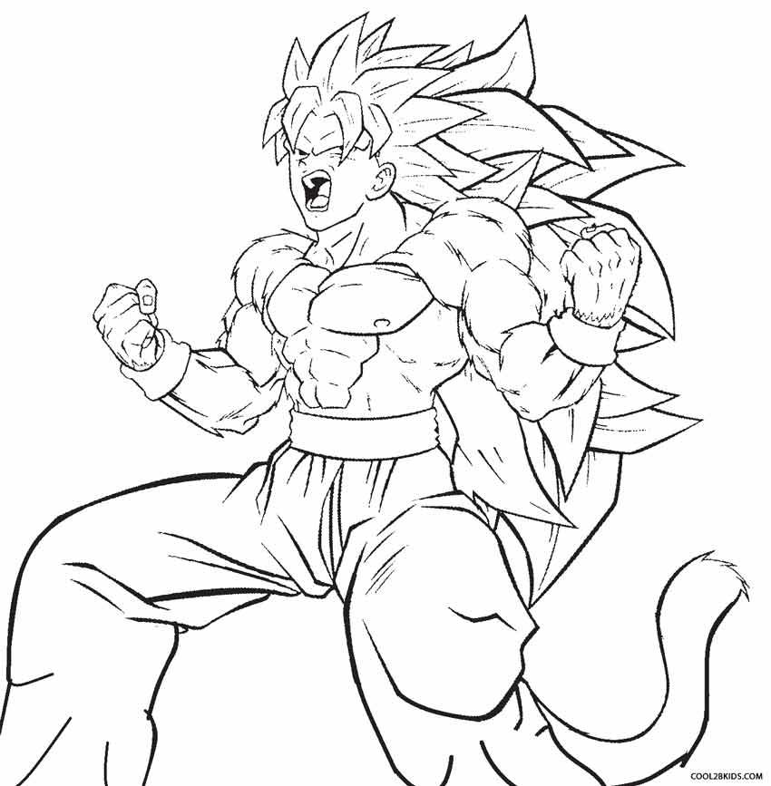 coloring pictures of goku kid goku coloring pages at getcoloringscom free of coloring goku pictures