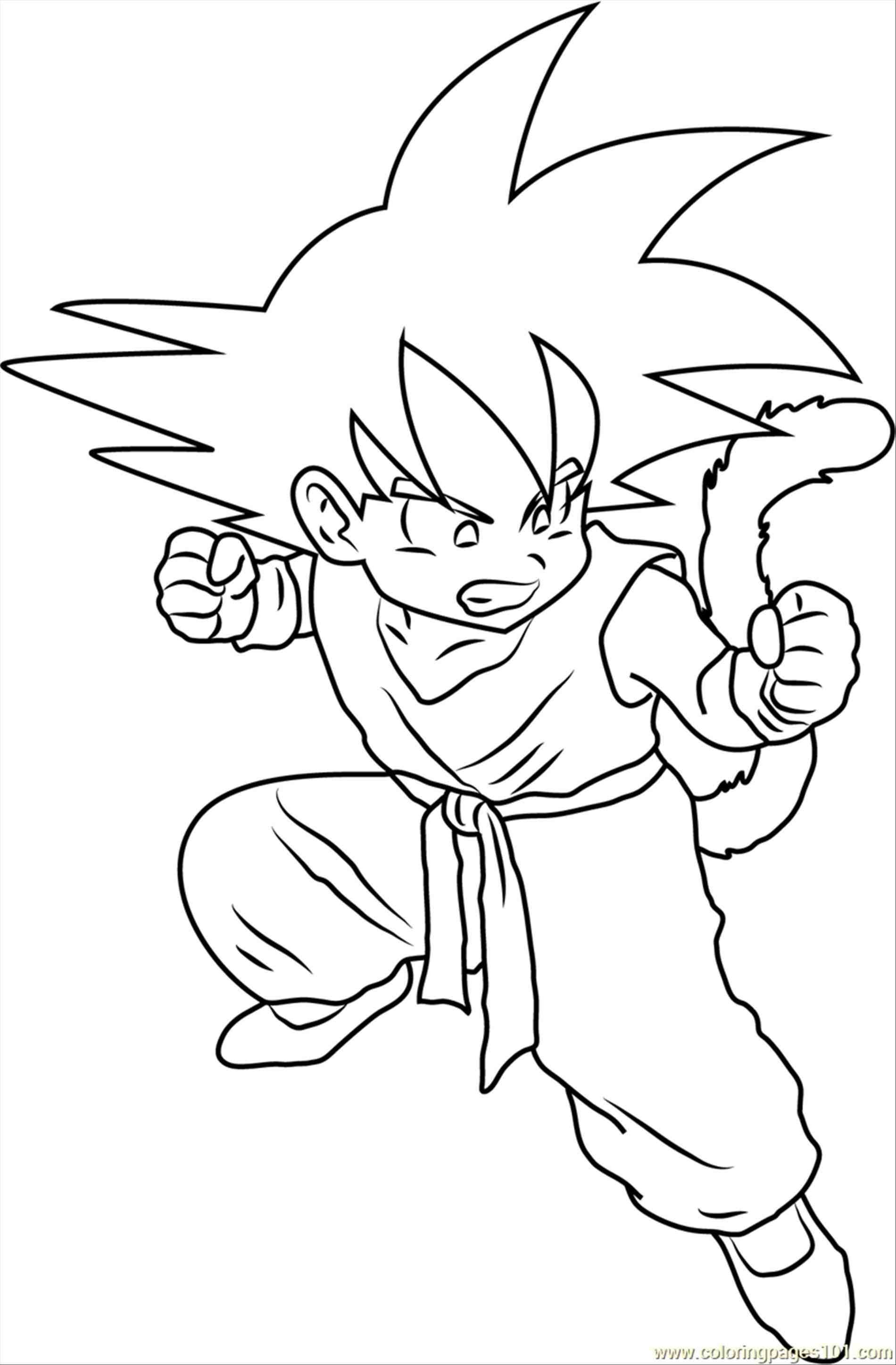 coloring pictures of goku printable goku coloring pages for kids cool2bkids of coloring goku pictures