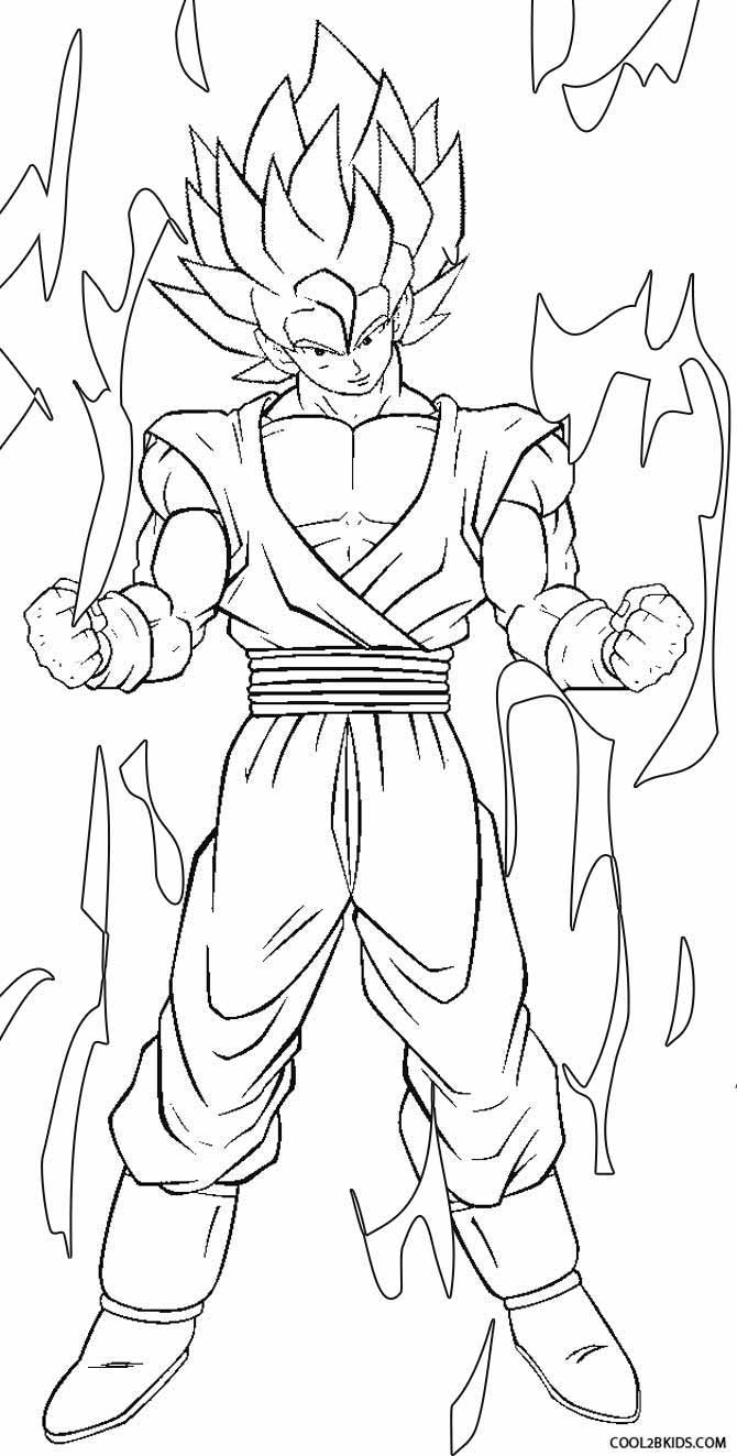coloring pictures of goku printable goku coloring pages for kids cool2bkids pictures of coloring goku