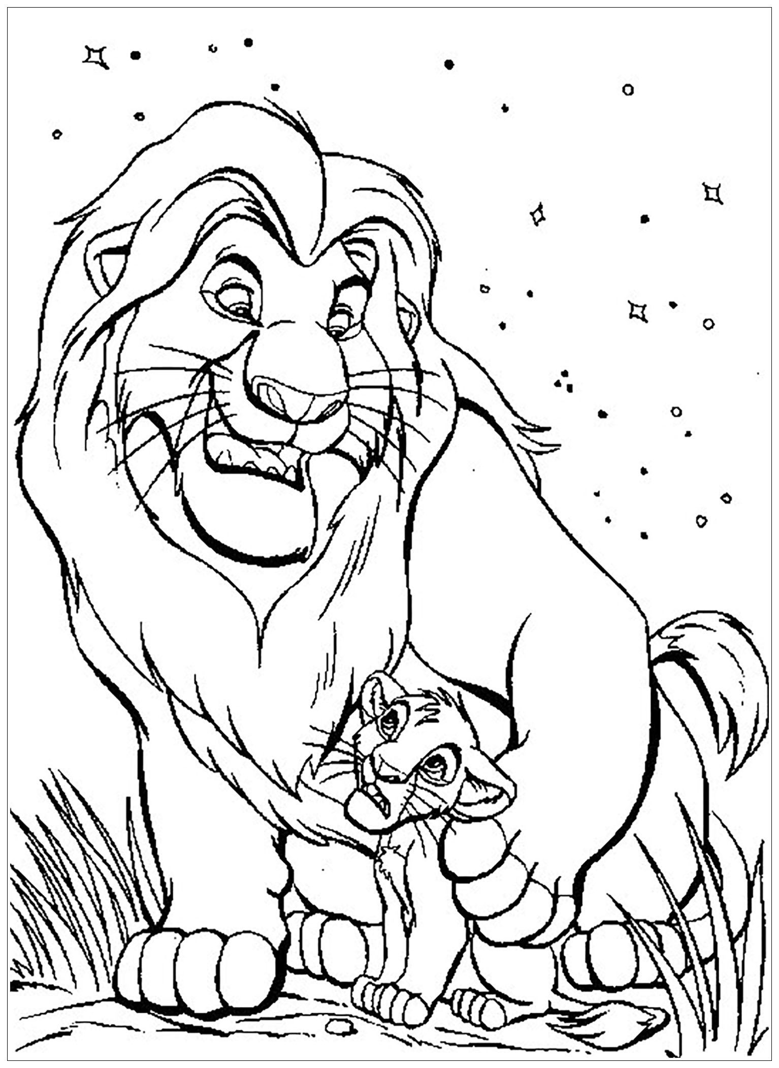 coloring pictures of lion king drawings of the lion king coloring pages coloring pages lion pictures king of coloring