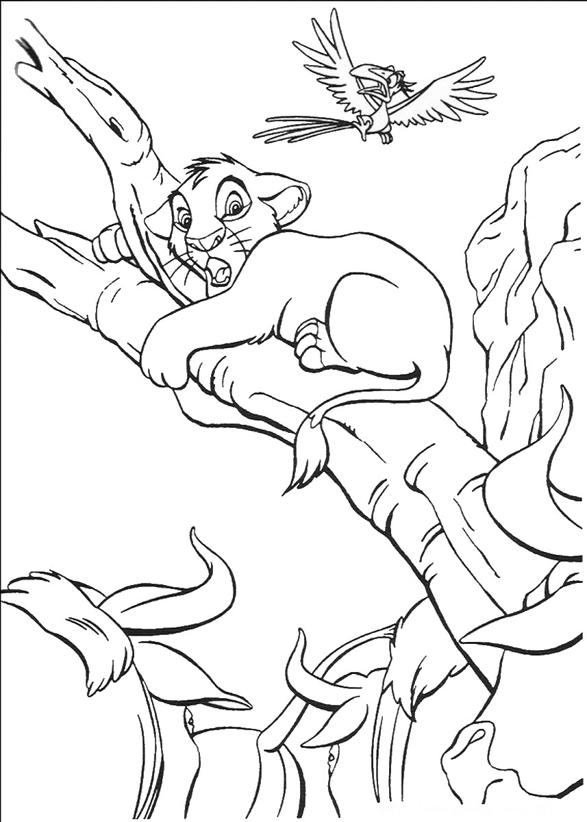 coloring pictures of lion king kids coloring pages disney characters coloring home king of pictures lion coloring