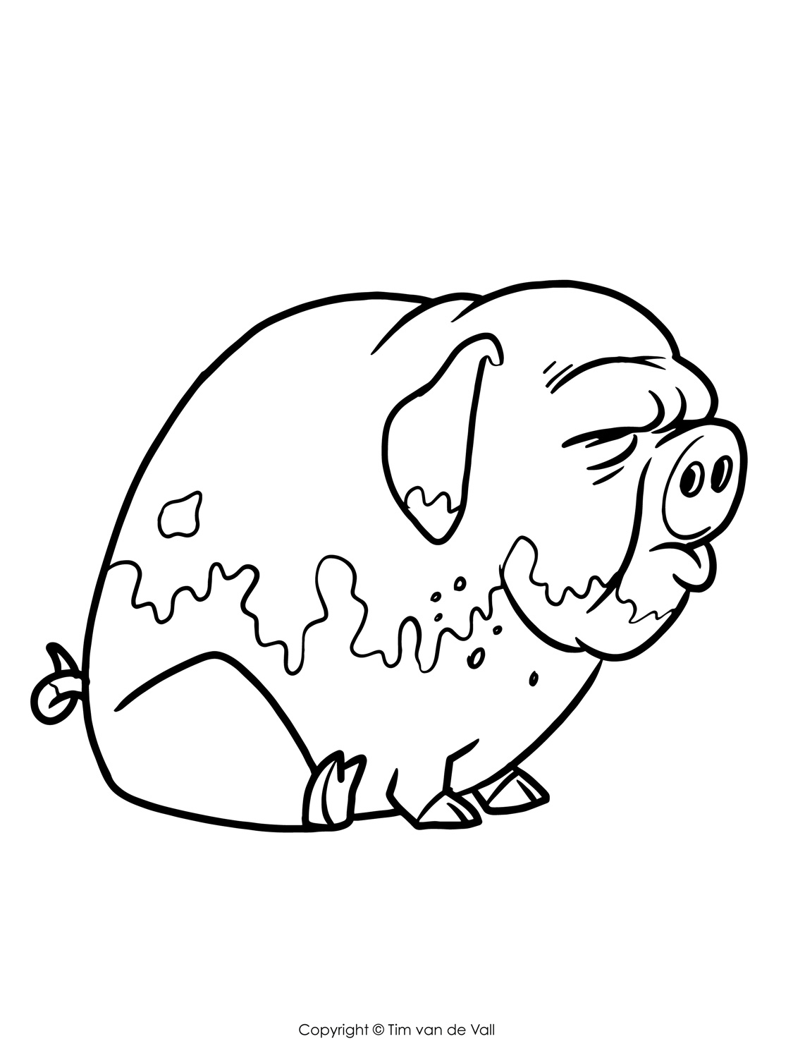 coloring pictures of pigs free printable pig coloring pages for kids cool2bkids pictures coloring of pigs