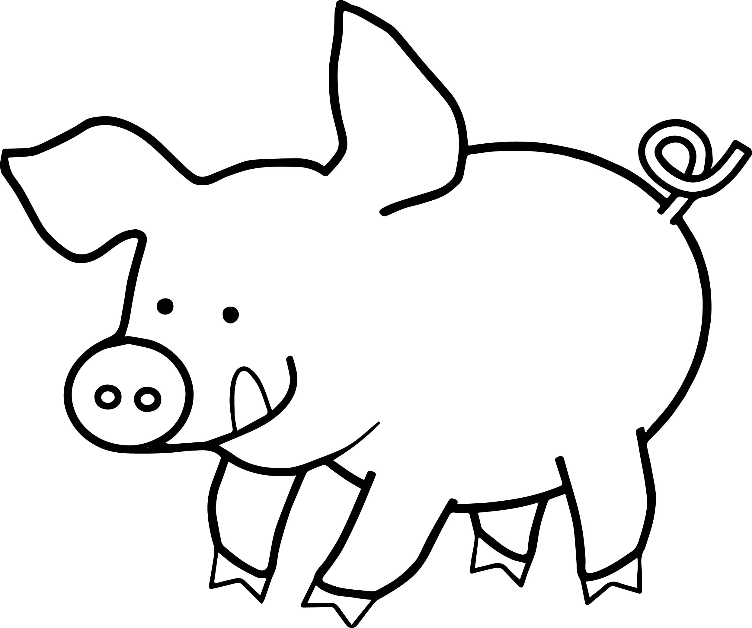 coloring pictures of pigs free printable pig coloring pages for kids pictures pigs of coloring