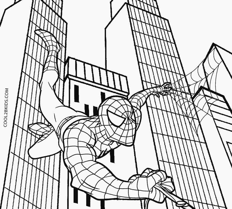 coloring pictures of spiderman print download spiderman coloring pages an enjoyable pictures coloring spiderman of