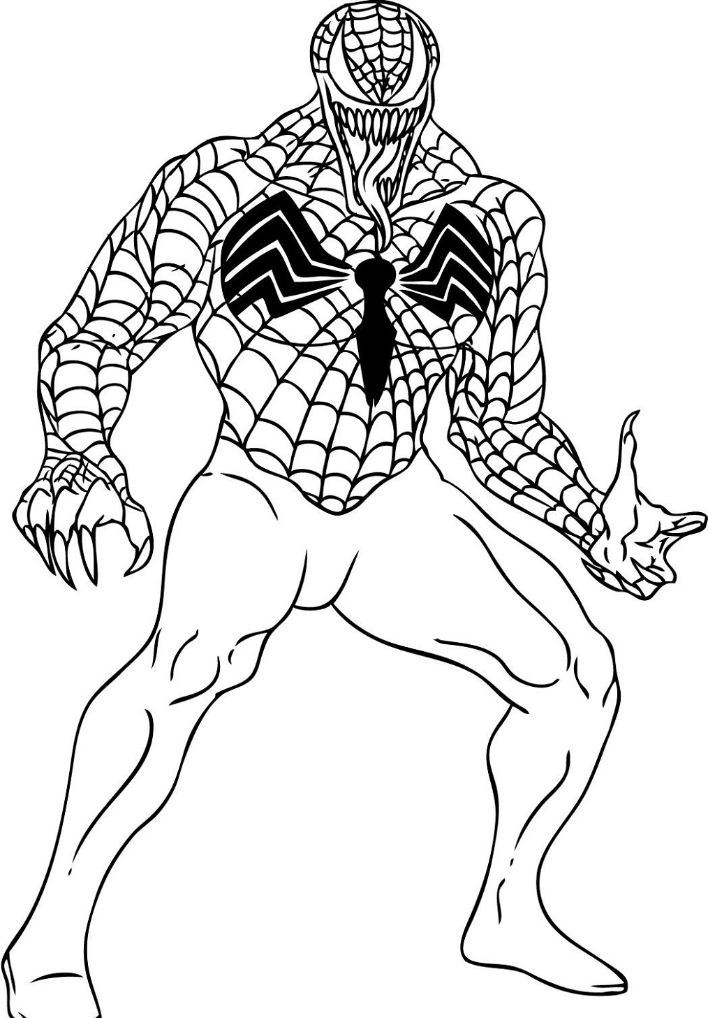 coloring pictures of spiderman spiderman homecoming drawing at getdrawings free download pictures of spiderman coloring