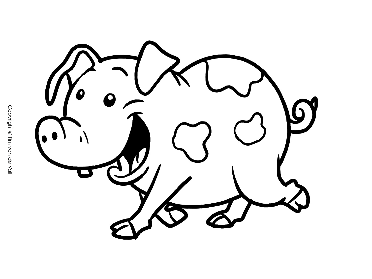 coloring pig pictures free printable pig coloring pages for kids coloring pig pictures