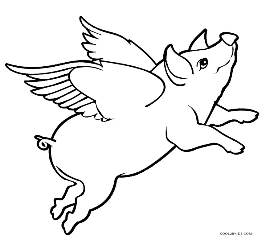 coloring pig pictures free printable pig coloring pages for kids cool2bkids pictures pig coloring