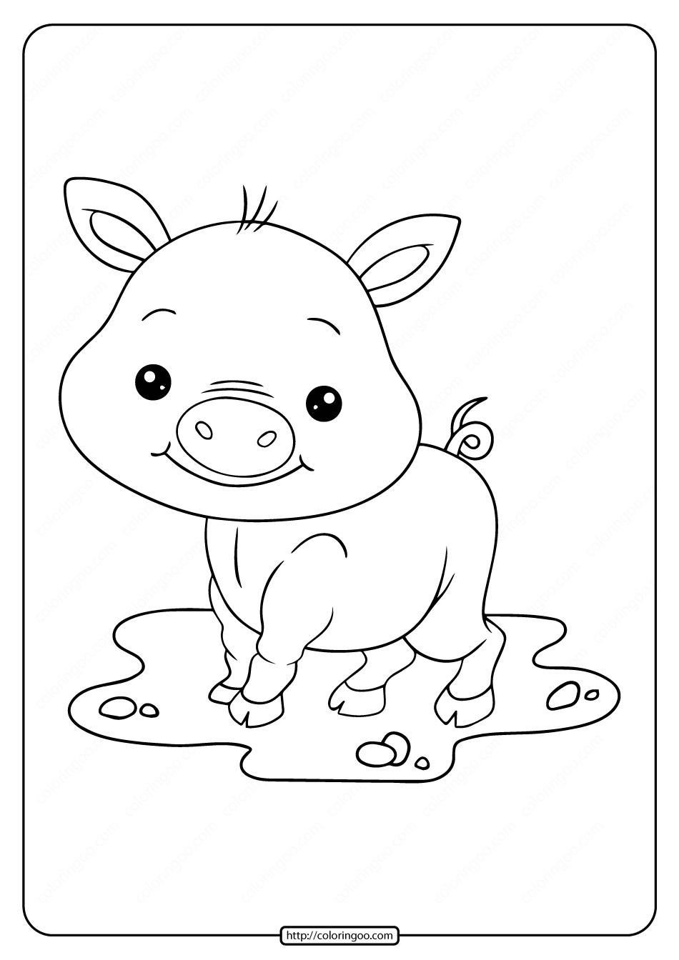 coloring pig pictures printable baby cute pig coloring pages coloring pig pictures