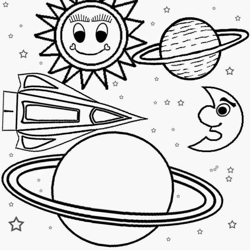 coloring planets solar system drawing color the solar system solar planets drawing system coloring