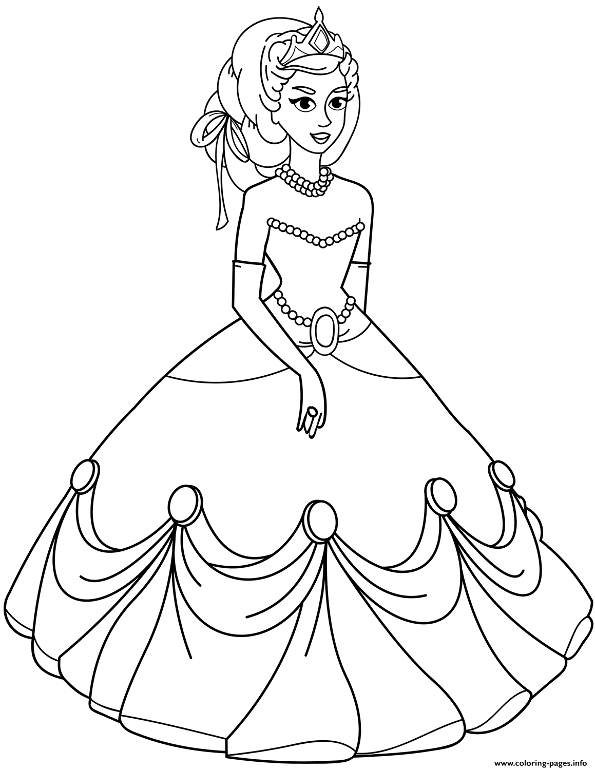 coloring princess drawing for kids princess tiana coloring pages download and print for free coloring kids drawing for princess