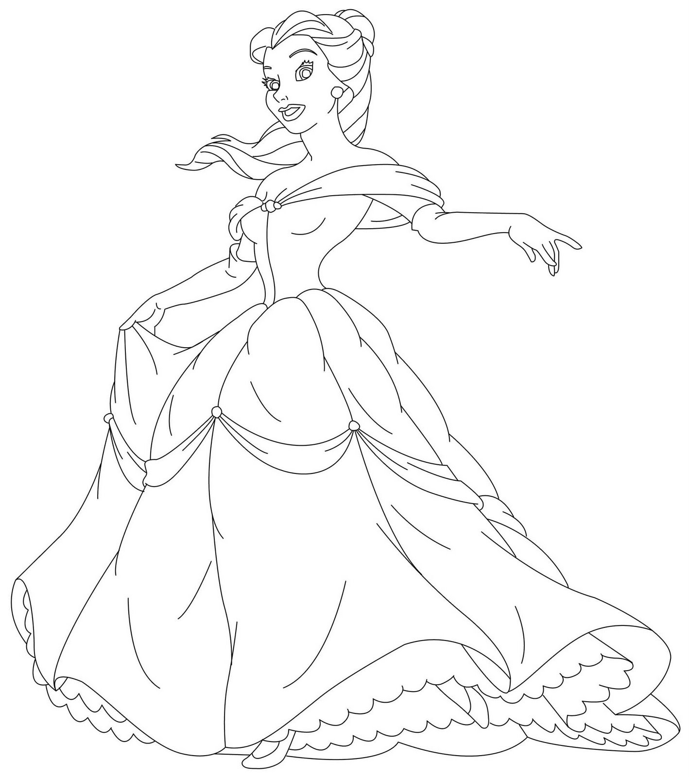 coloring princesses baby princess coloring pages to download and print for free coloring princesses