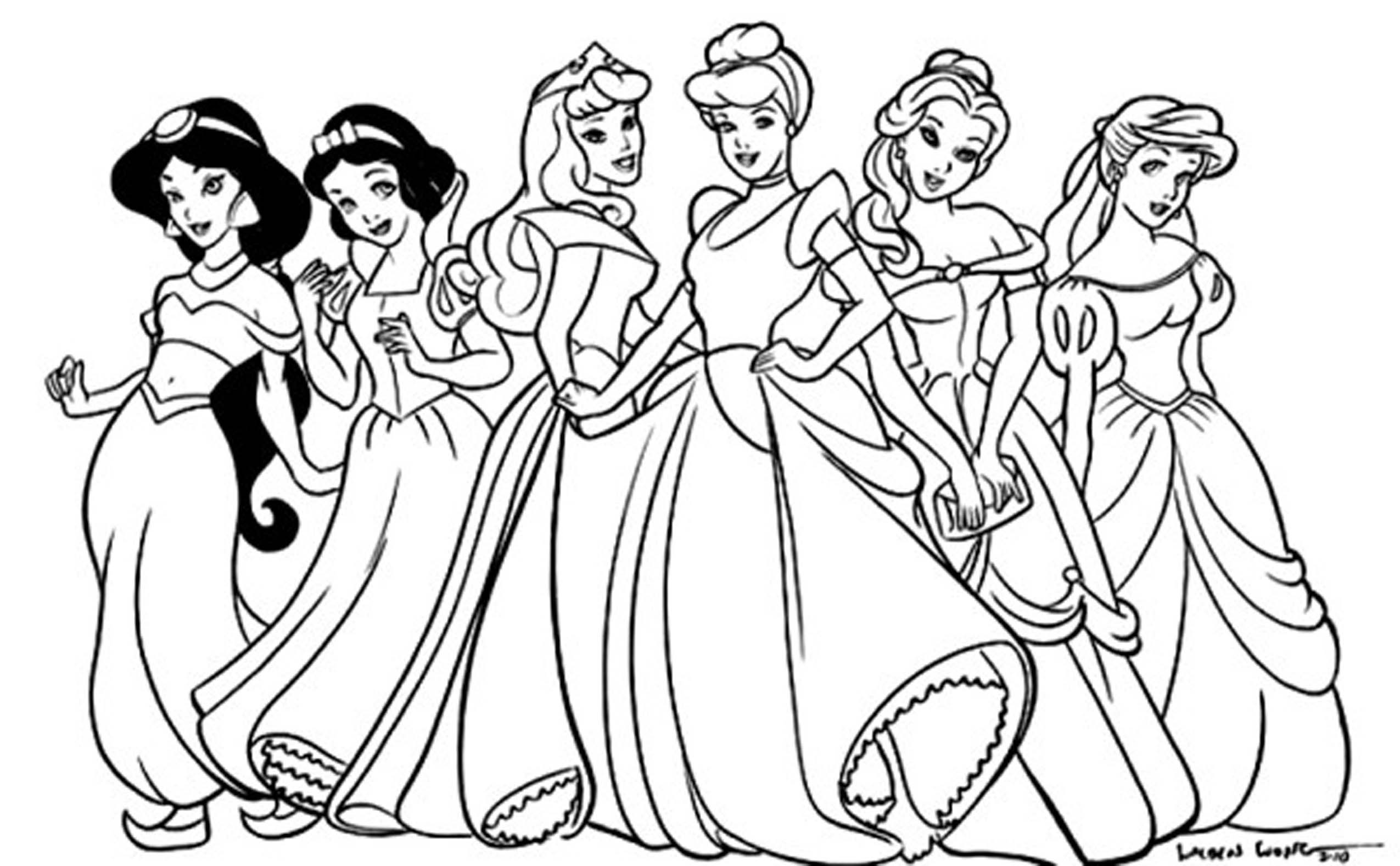 coloring princesses disney princesses best coloring pages free coloring princesses coloring