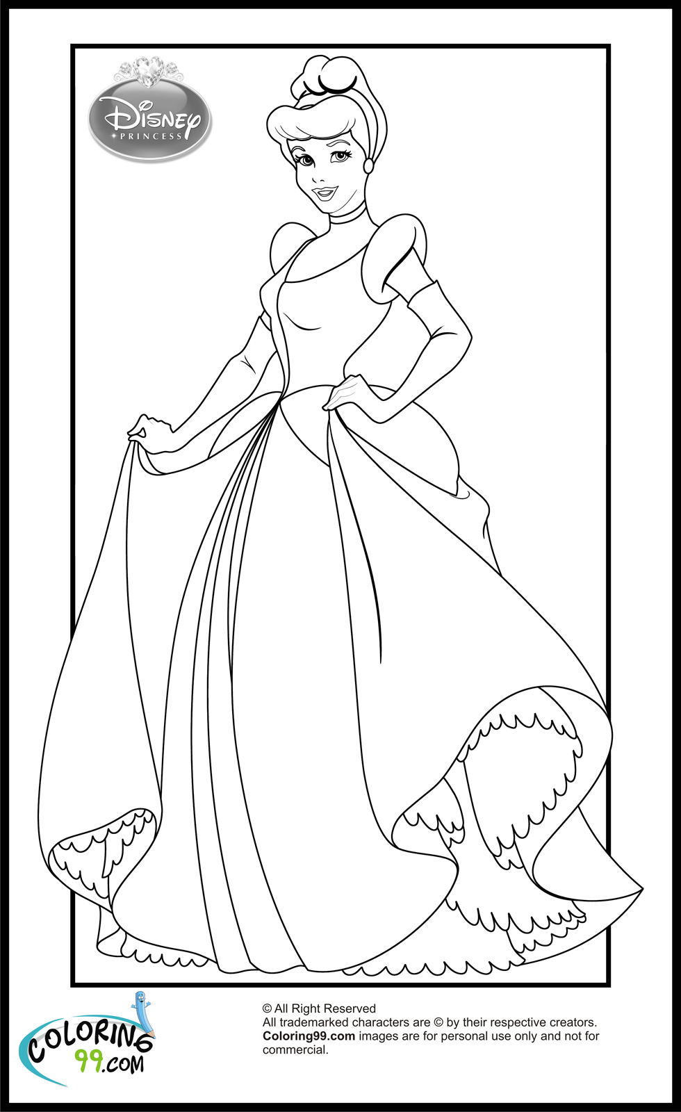 coloring princesses hd baby disney princess coloring pages pictures coloring princesses coloring
