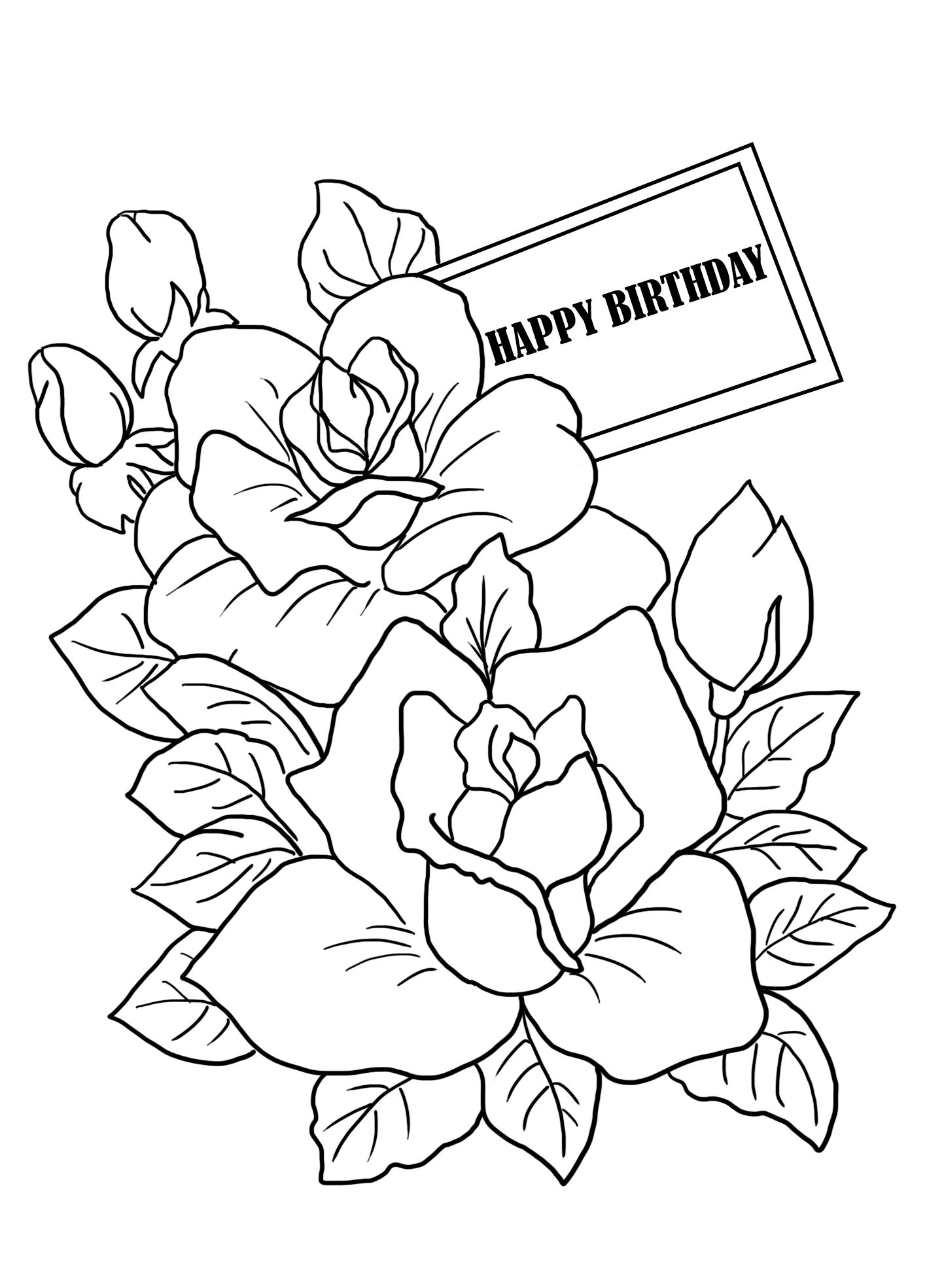 coloring printable birthday free easy to print happy birthday coloring pages tulamama printable birthday coloring