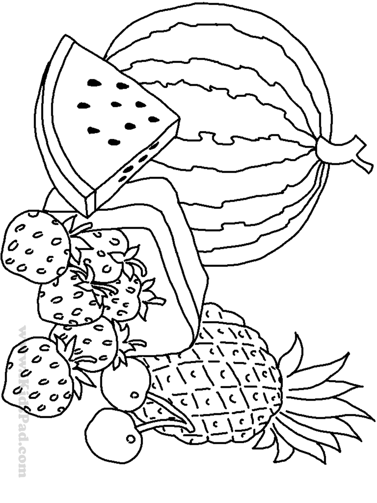coloring printable fruits and vegetables 14 best images of fall word scramble worksheets printable fruits vegetables and coloring