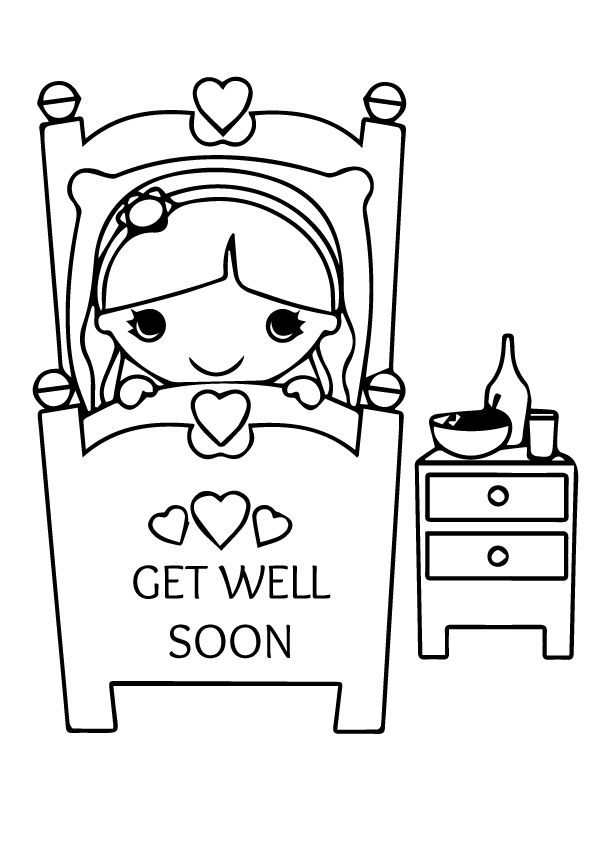 coloring printable get well cards 20 free get well soon coloring pages printable scribblefun coloring get cards well printable
