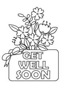 coloring printable get well cards coloring printable get well cards printable cards coloring well get